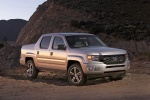 2013 Honda Ridgeline in Alabaster Silver Metallic - Static Front Right View